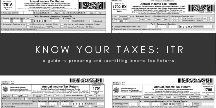 Know Your Taxes: How To File Income Tax Return