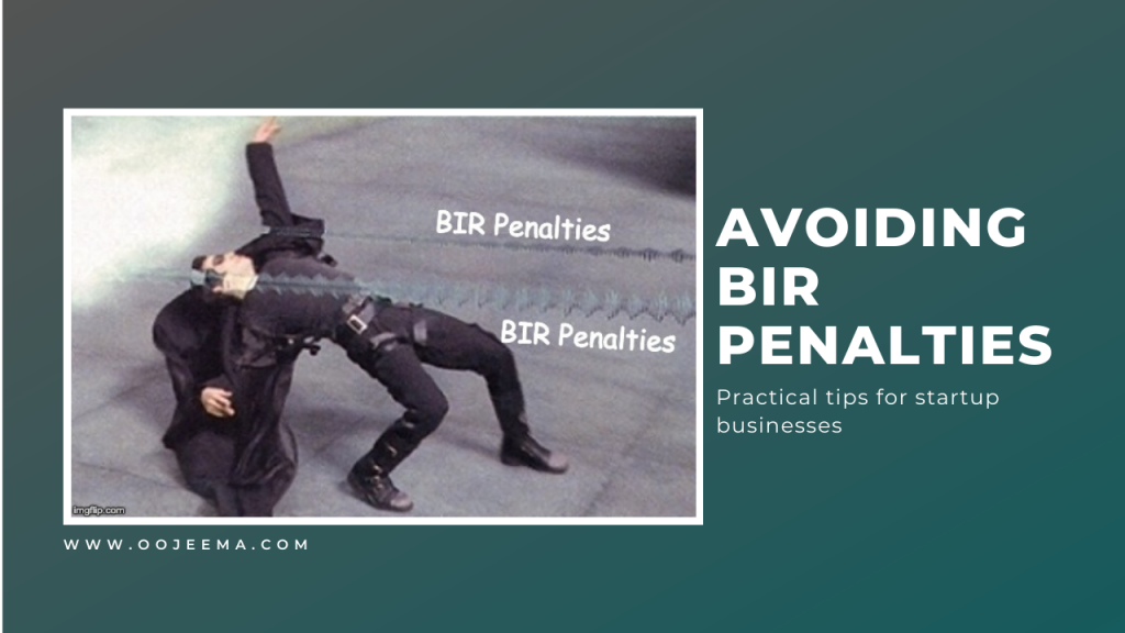 avoid bir penalty