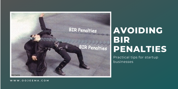 Startup Business Advice: How To Avoid BIR Penalty